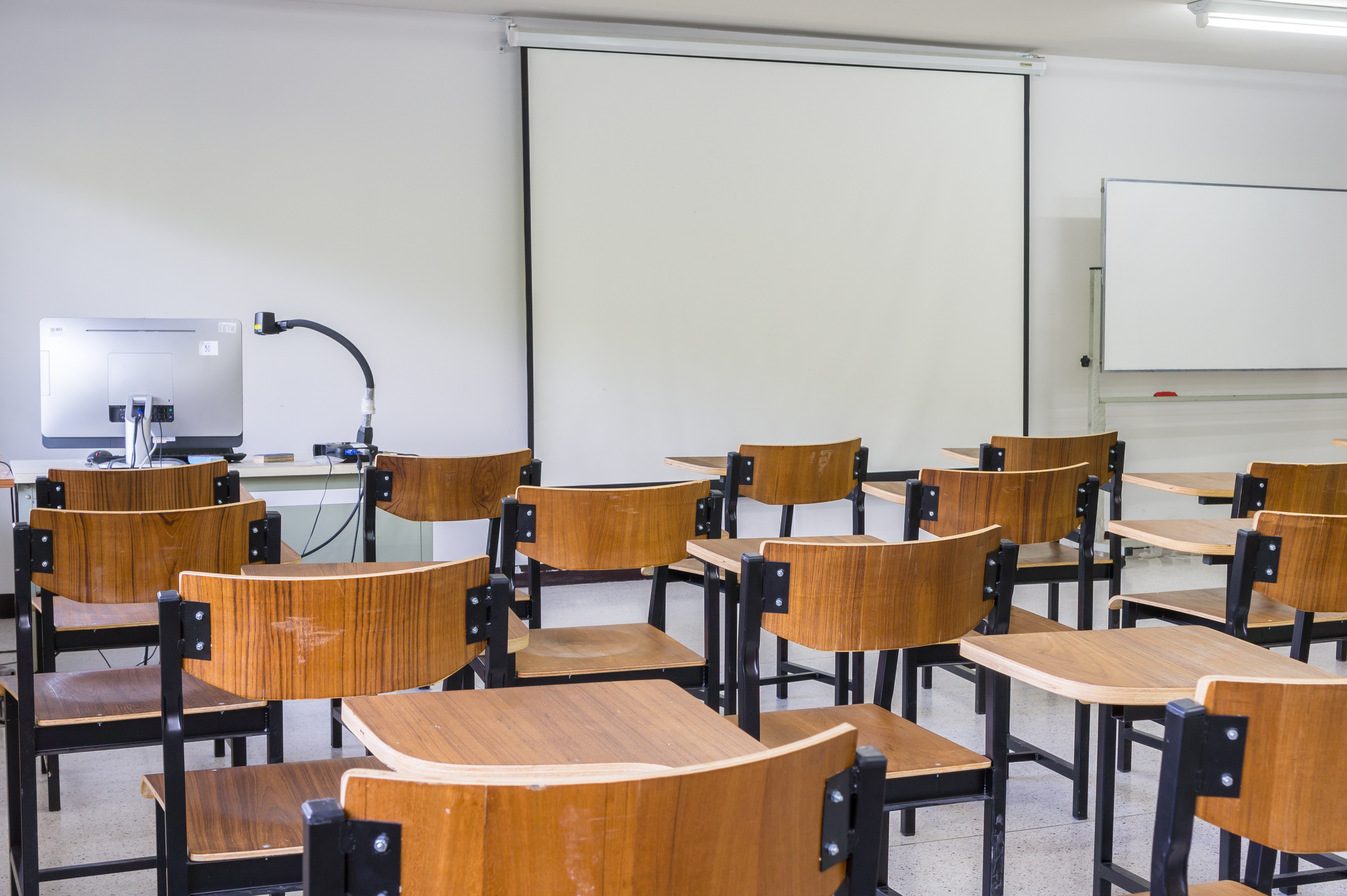 Empty Classroom Education